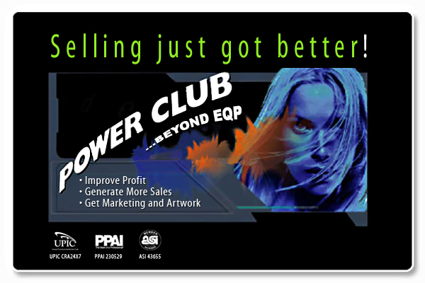 Join Poweclub - distributor services at preferred pricing